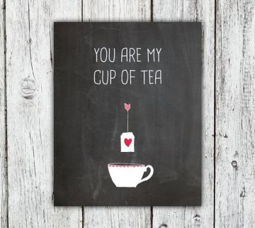 Cup of tea v day