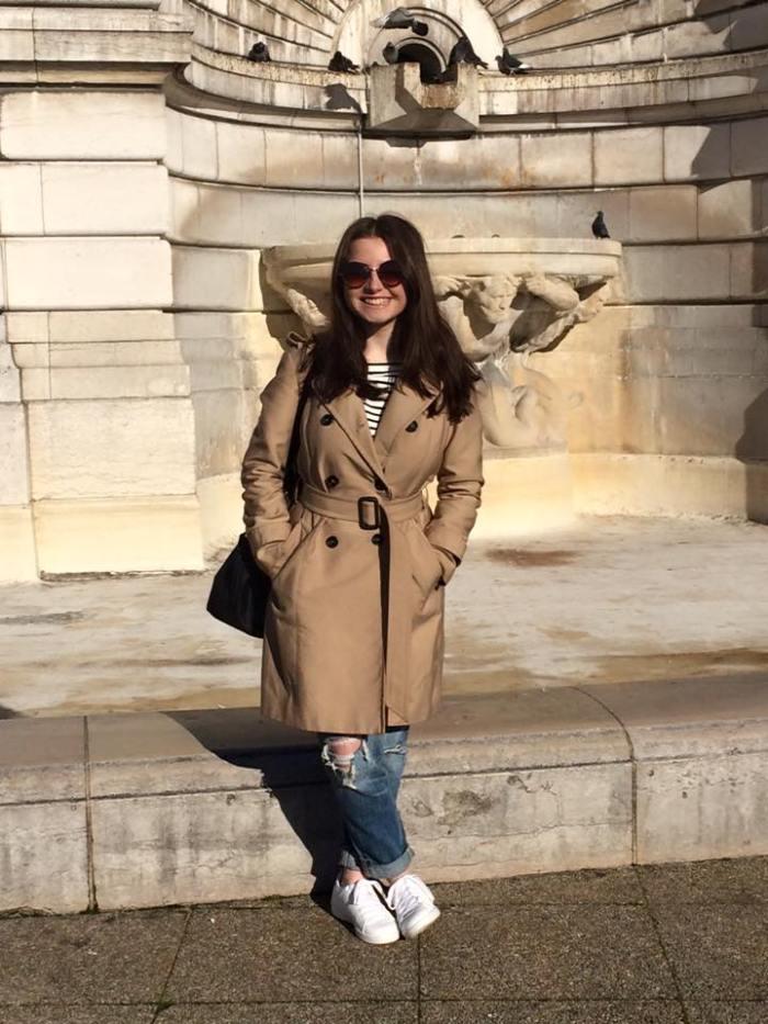 Paris day 1 outfit
